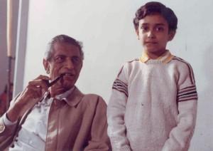 Vikram with Satyajit Ray